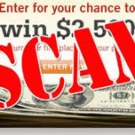 sweepstake scam