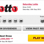 Saturday Lottery Results Draw 3145