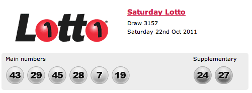 California ca lottery results lotto results and winning numbers