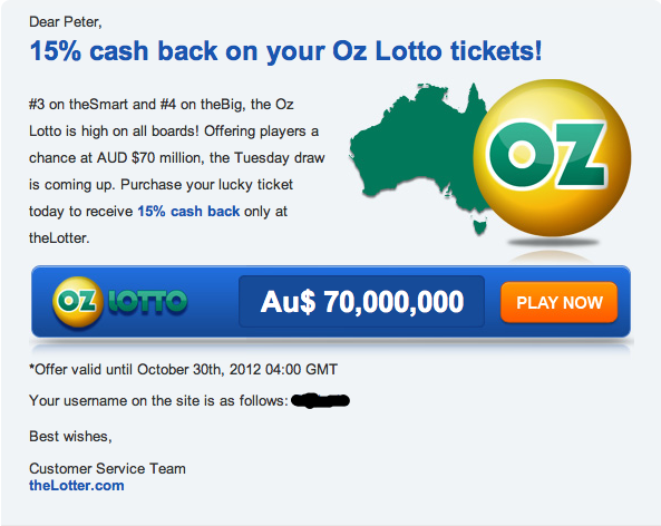 Oz Lotto Discount