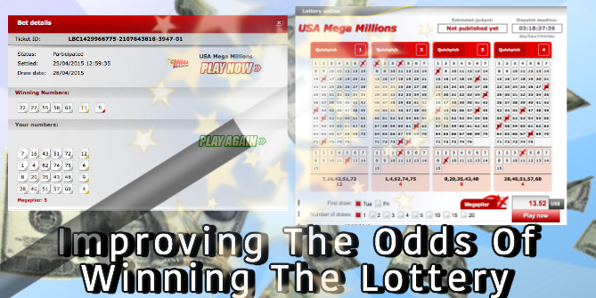 Improving lottery winning odds
